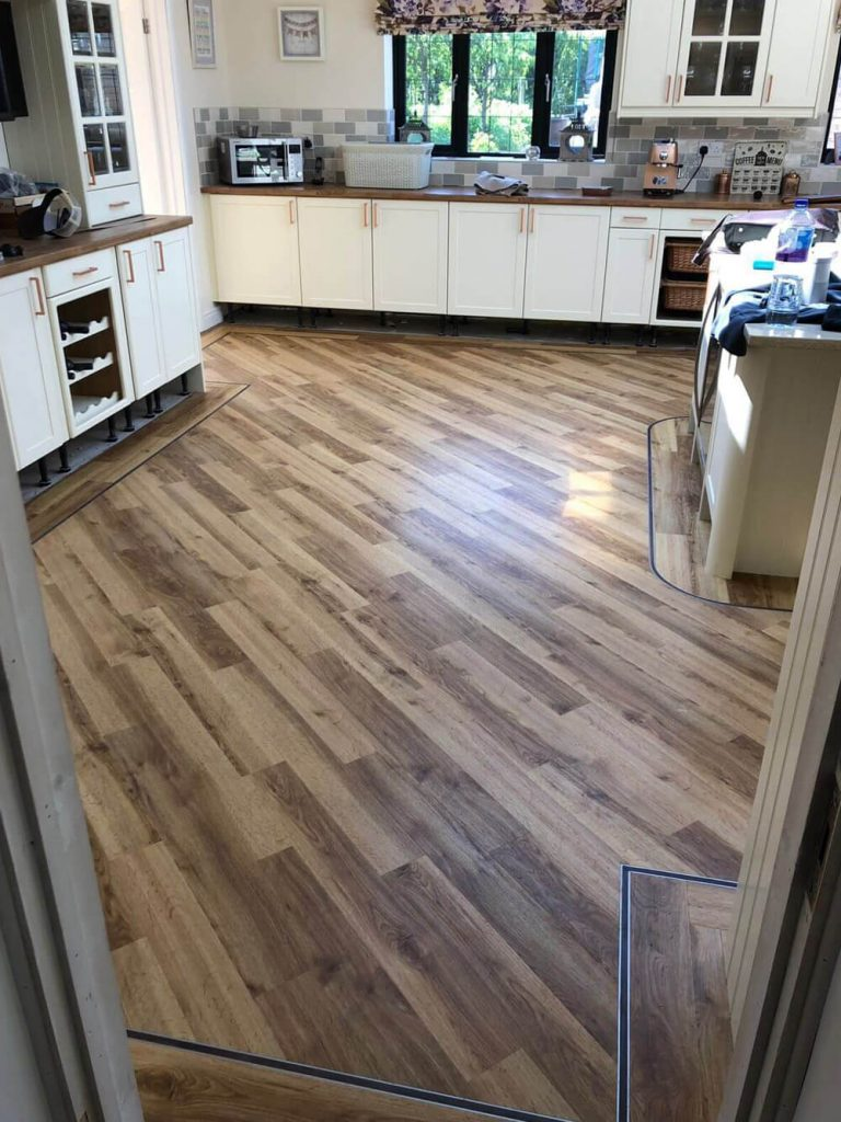 Amtico Signature Atherstone Kitchen Installation