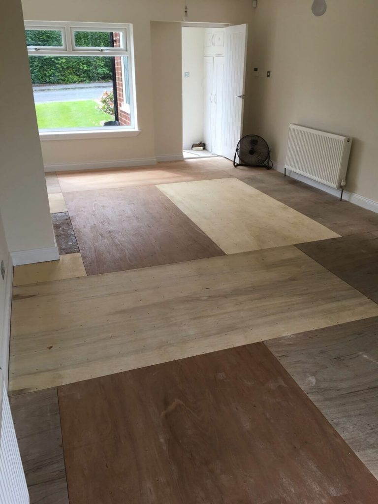 Amtico Spacia Flooring Shirley Before 1