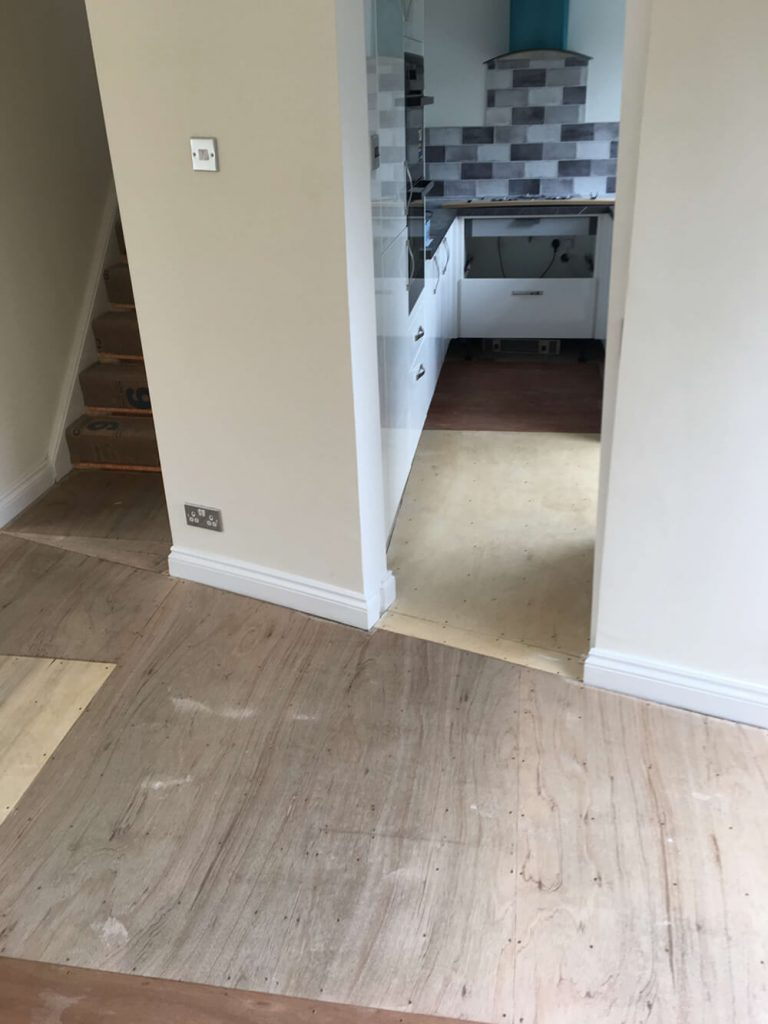 Amtico Spacia Flooring Shirley Before 2