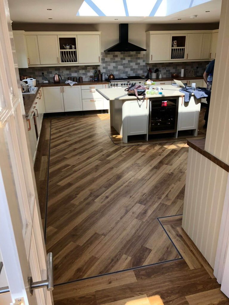 Amtico Signature Kitchen Installation Atherstone 3