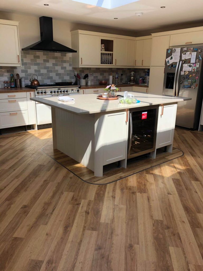 Amtico Signature Kitchen Installation Atherstone 2